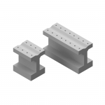 WD070 Concrete Base for Point Rod Rollers